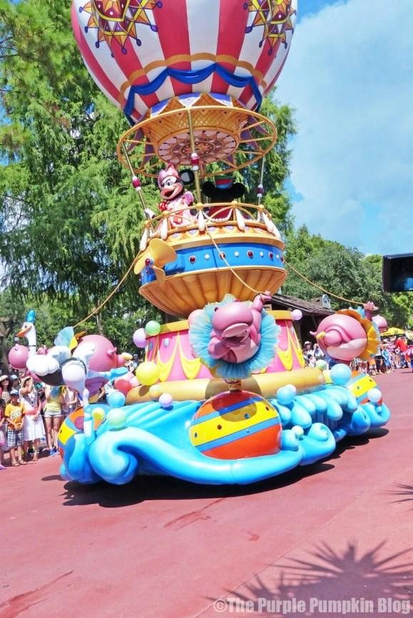 Mickey & Minnie - Festival of Fantasy Parade at Disney's Magic Kingdom