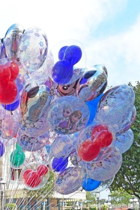 Mickey Balloons at Magic Kingdom