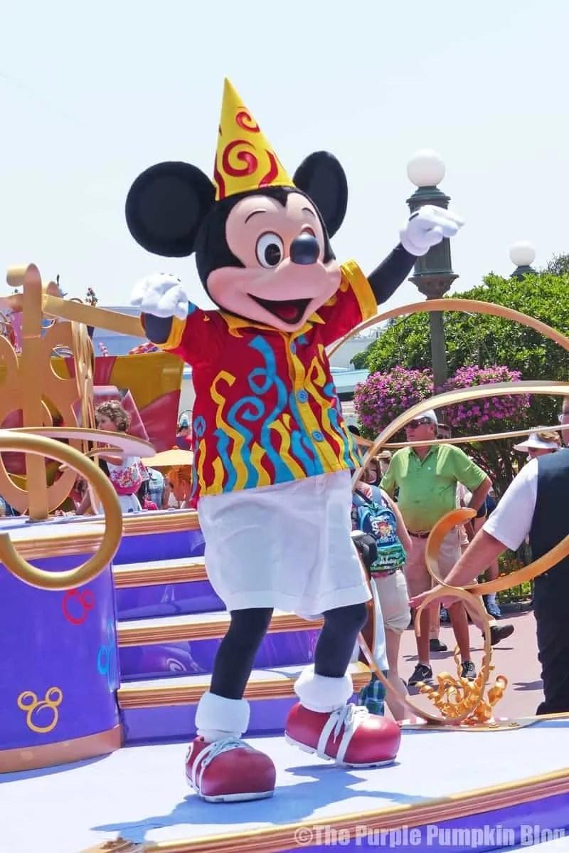 Move It! Shake It! Celebrate It! Street Party Parade at Disney's Magic Kingdom
