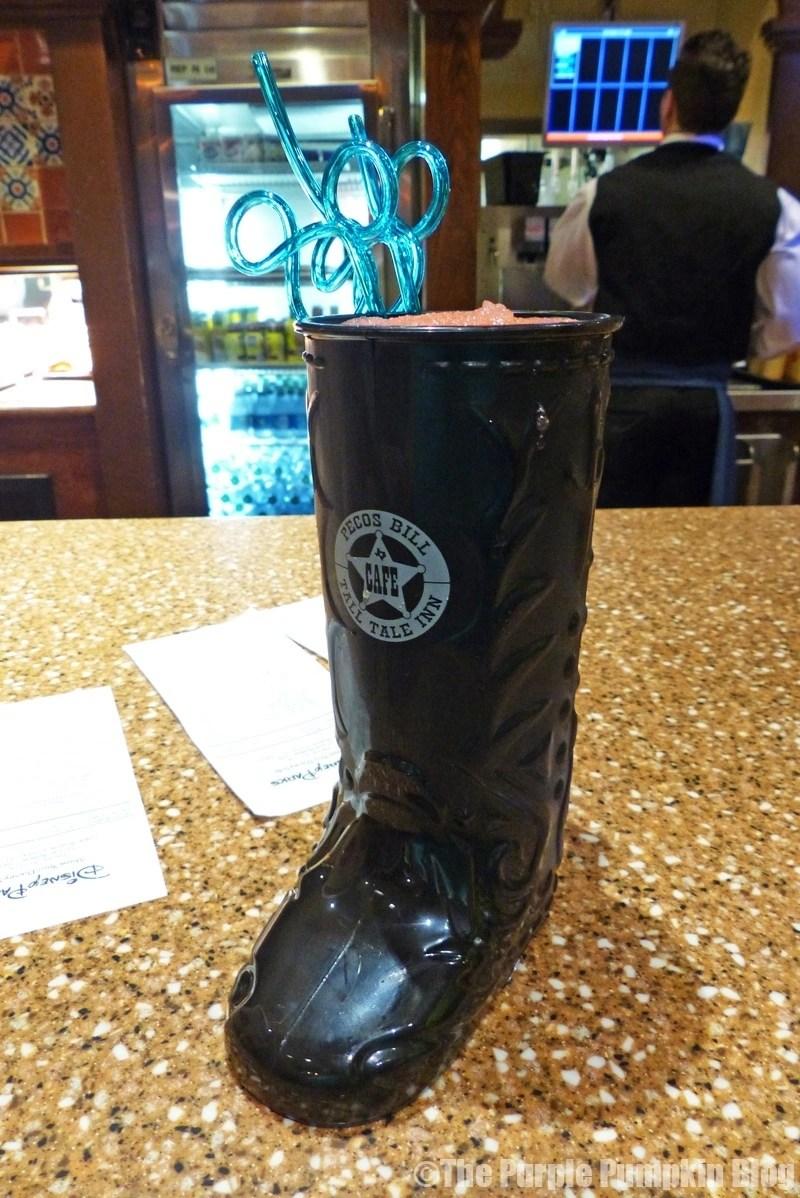 Novelty Boot Cup Pecos Bill Tall Tale Inn & Cafe