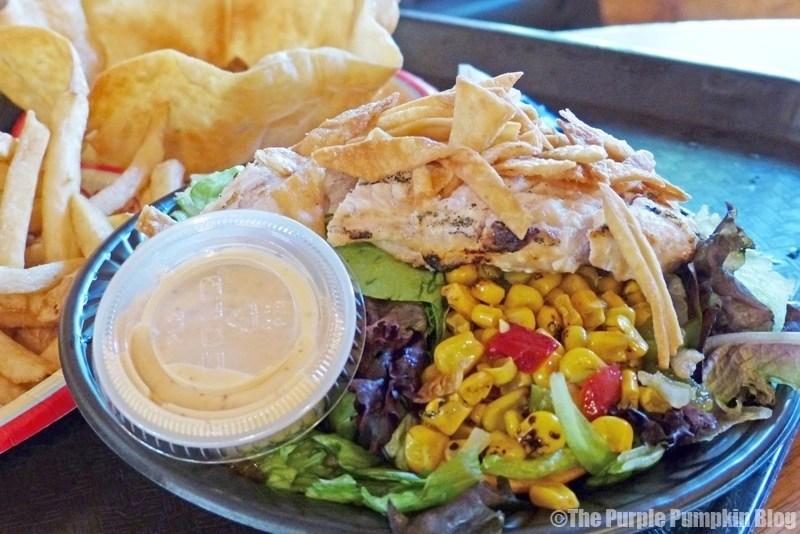 Southwest Chicken Salad at Pecos Bill Tall Tale Inn & Cafe