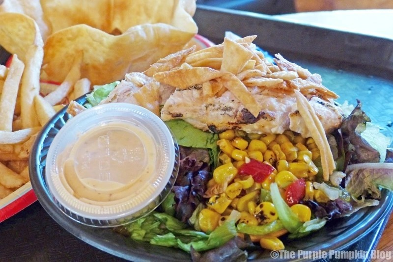 Southwest Chicken Salad at Pecos Bill Tall Tale Inn & Cafe