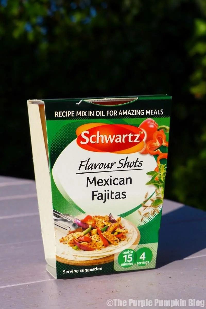 Schwartz Flavour Shots - Mexican Fajitas