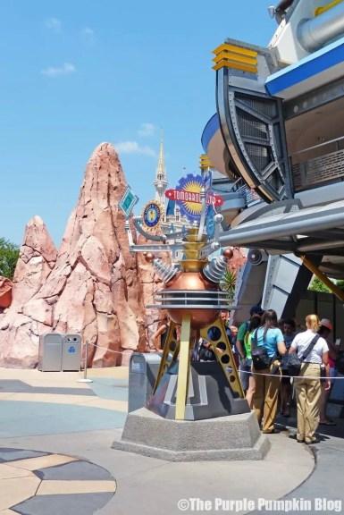 Tomorrowland at Magic Kingdom