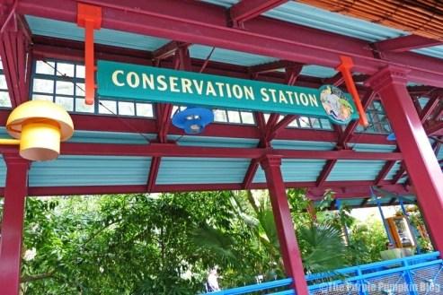 Wildlife Express at Disney's Animal Kingdom