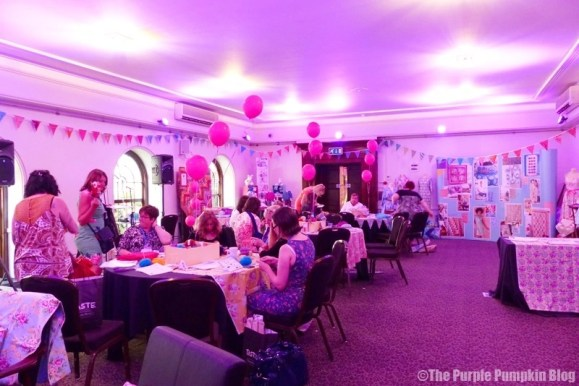Lady Sew and Sew Craft Lounge with Make It Coats at BritMums Live