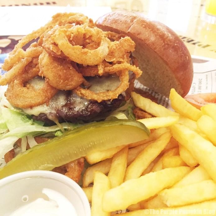 Bubba Gump Shrimp Co. London - Burger