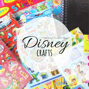 Disney Crafts on The Purple Pumpkin Blog