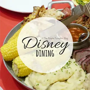 Disney Dining on The Purple Pumpkin Blog
