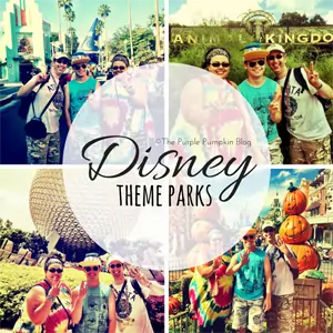 Disney Theme Parks on The Purple Pumpkin Blog