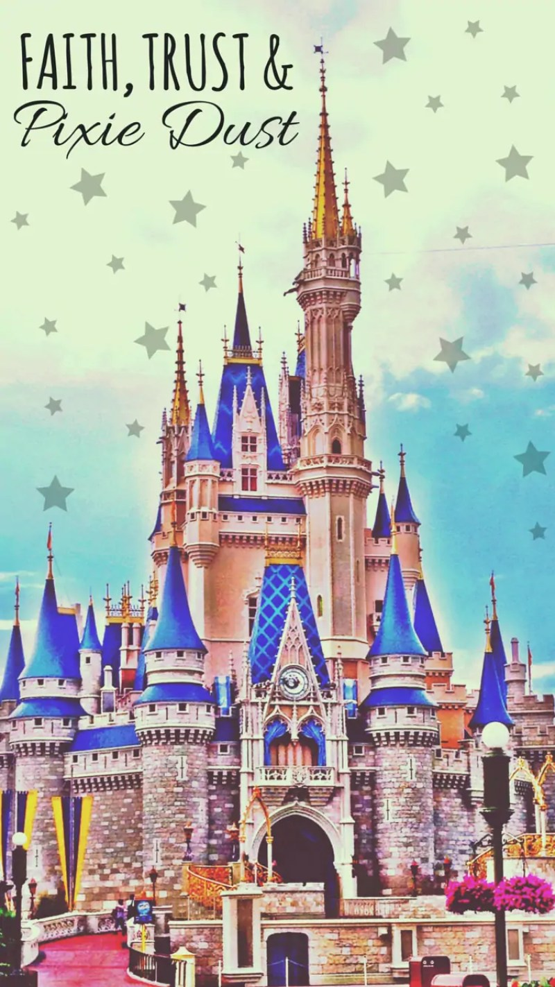 Faith, Trust and Pixie Dust - iPhone6 Disney Wallpaper