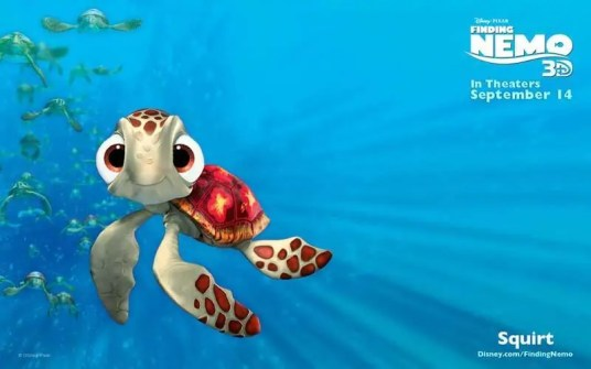 Finding Nemo - Squirt