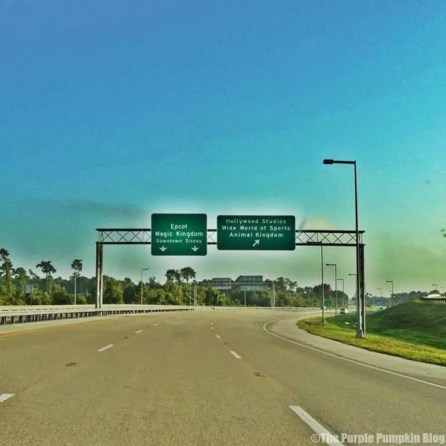 Road Signs in Orlando - Magic Kingdom