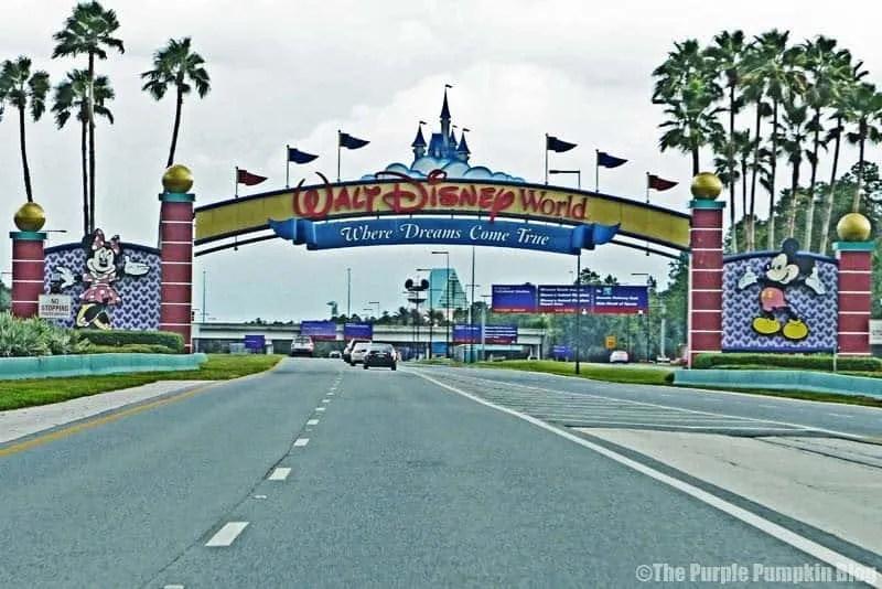 Walt Disney World Sign - Do Not Stop!