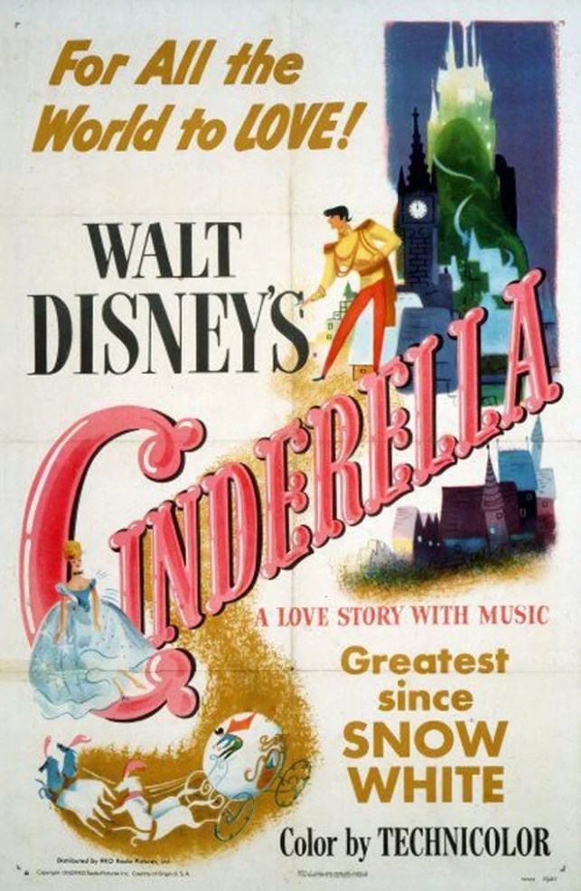 Cinderella - Disney Movie Poster