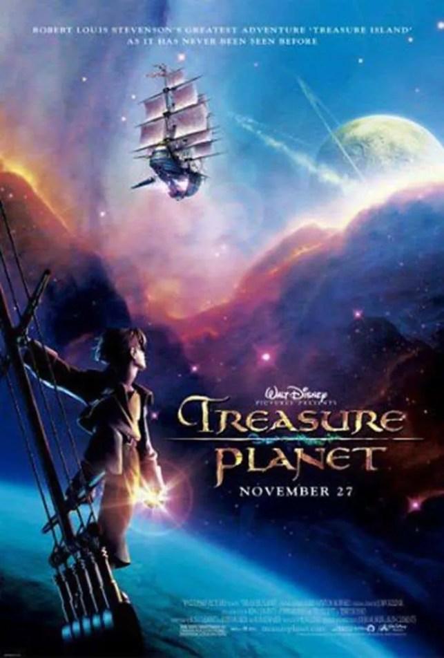 Treasure Planet - Disney Movie Poster