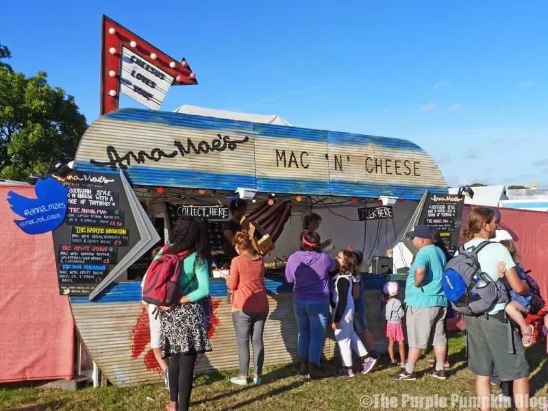 Anna Mae's Mac 'n' Cheese at Camp Bestival