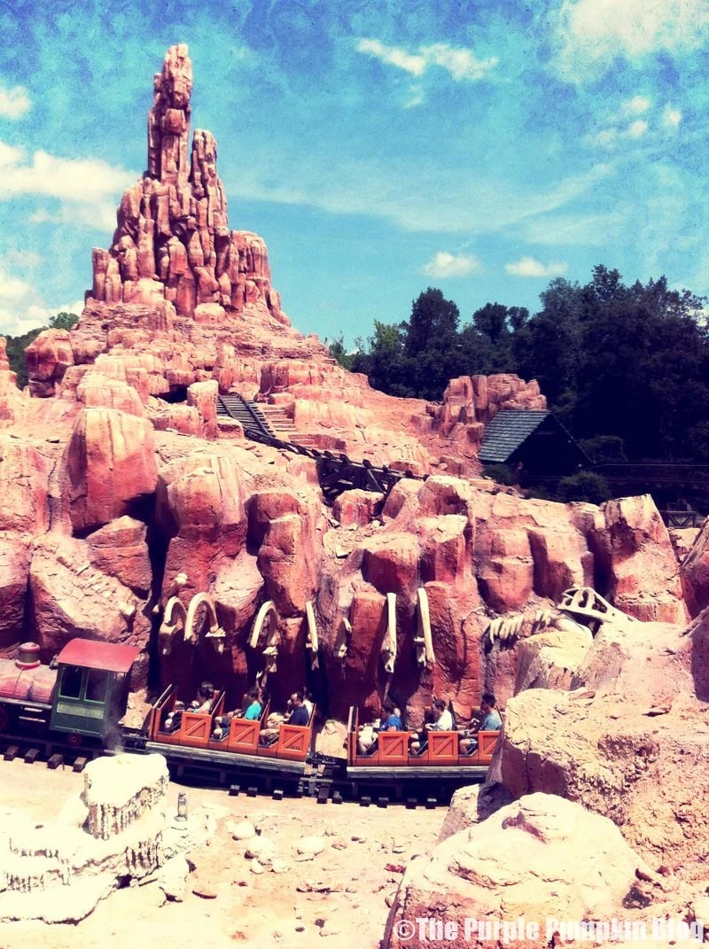Big Thunder Mountain Railroad - Magic Kingdom