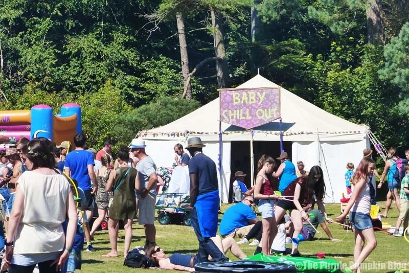 Camp Bestival - Baby Chill Out Zone