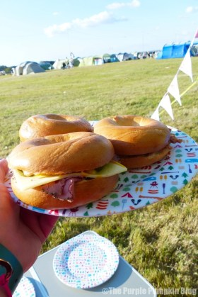 Coffee & Bagels at Camp Bestival