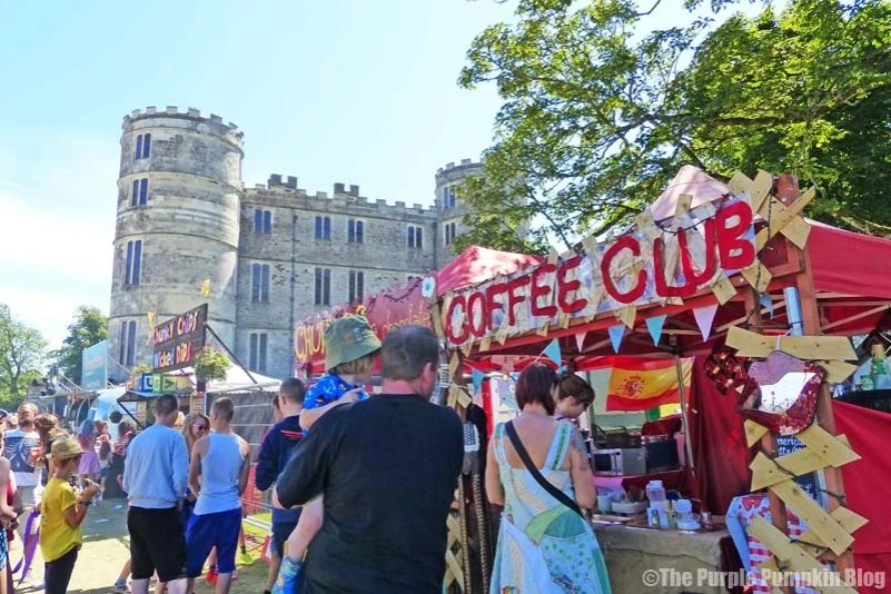 Coffee Club at Camp Bestival