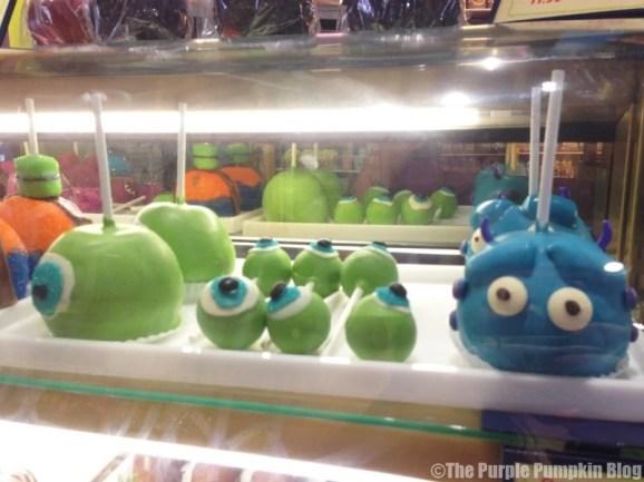 Disney Snacks - Monsters Inc. Candy Apples & Cake Pops