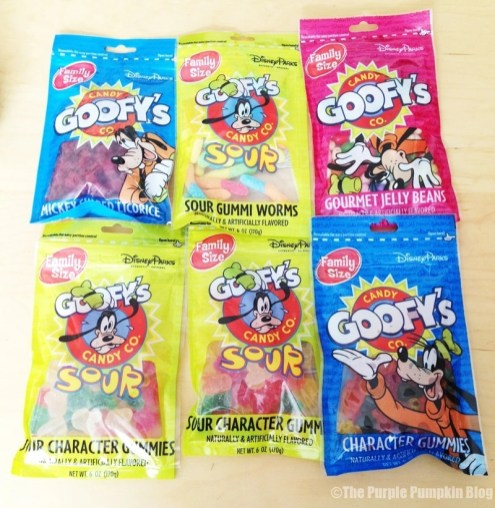 Disney Snacks - Goofy's Candy Co.