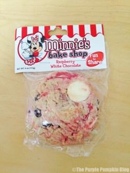 Disney Snacks - Minnie's Raspberry White Chocolate Cookie