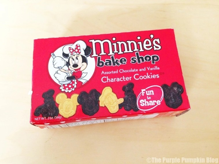 Disney Snacks - Minnie's Bake Shop Cookies