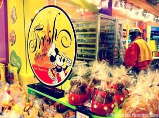 Disney Snacks - Candy Apples