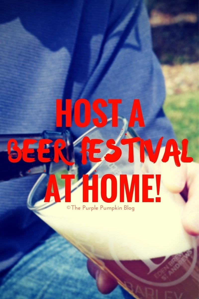 Host A Beer Festival At Home