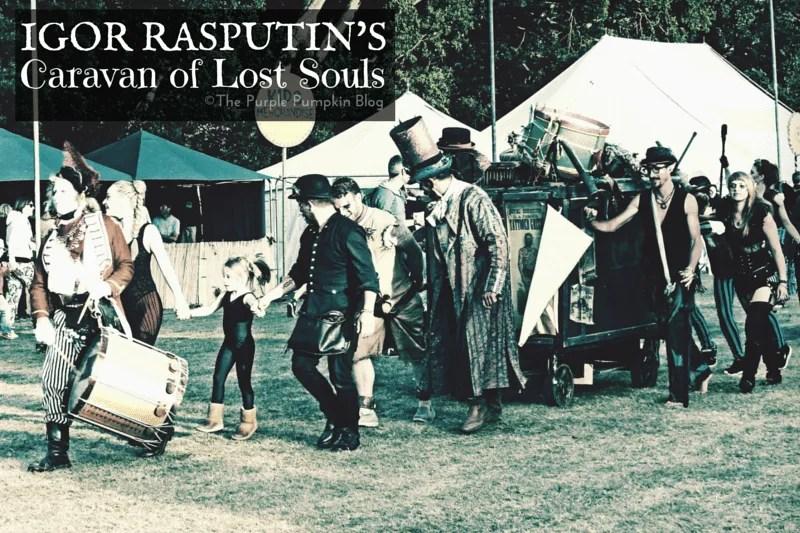 Igor Rasputin's Caravan of Lost Souls