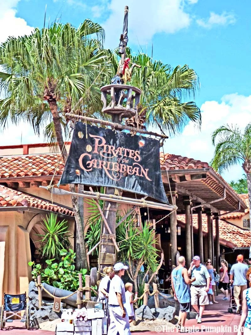 Pirates of the Caribbean - Magic Kingdom