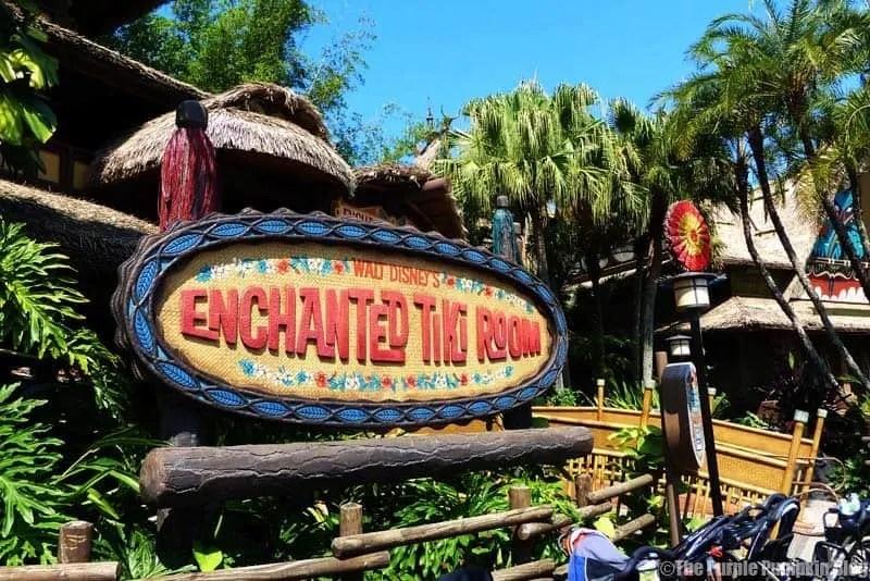 Walt Disney's Enchanted Tiki Room - Magic Kingdom