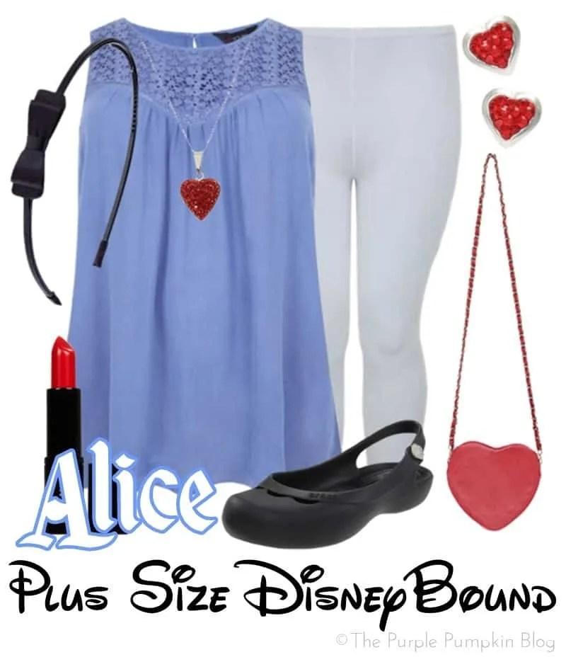 Alice - Plus Size DisneyBound - Day