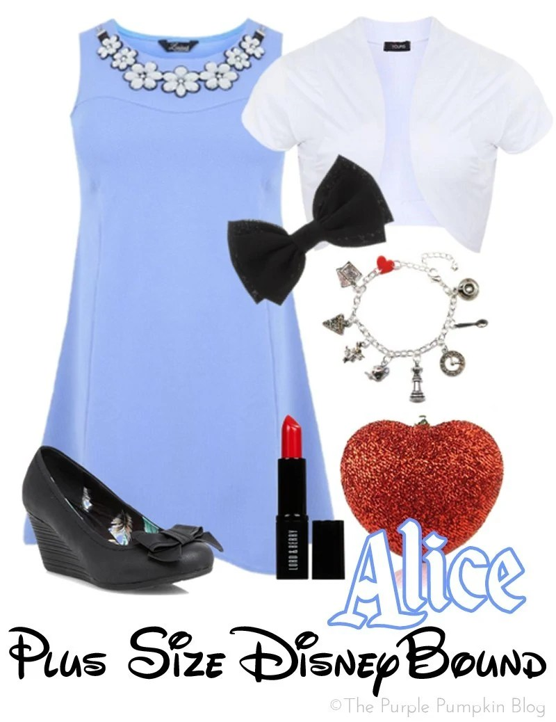 Alice - Plus Size DisneyBound - Evening