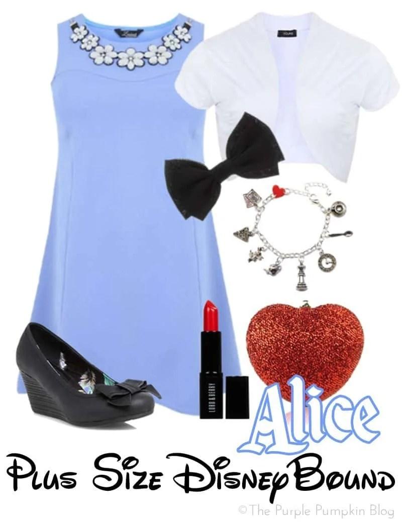 Alice - Plus Size DisneyBound - Evening