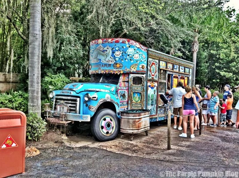 Anandapur Ice Cream Truck - Animal Kingdom