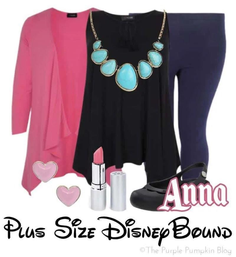 Anna - Plus Size DisneyBound