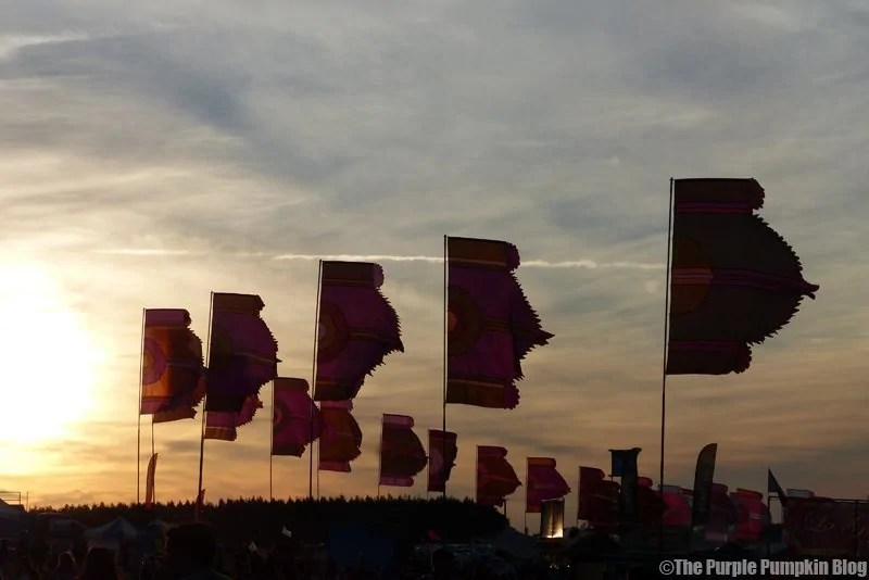 Sunset - Camp Bestival