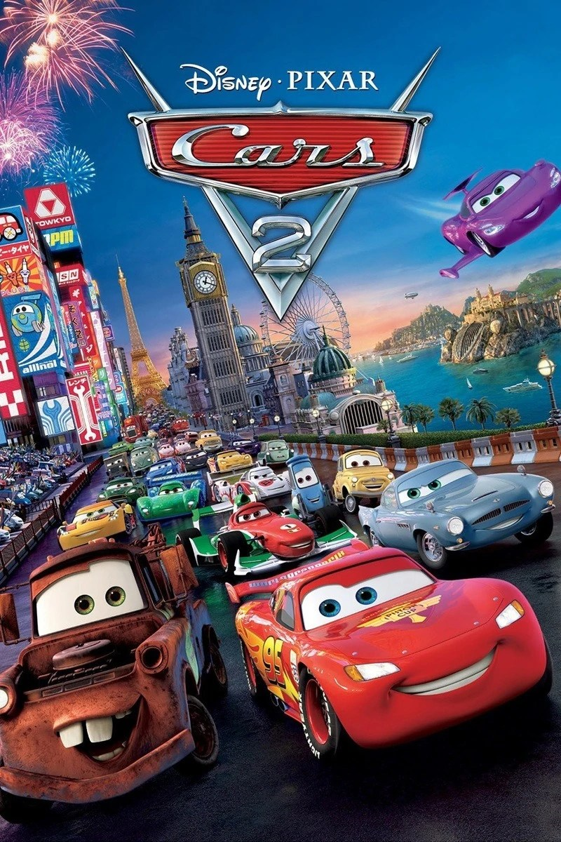 Cars 2 Movie Poster