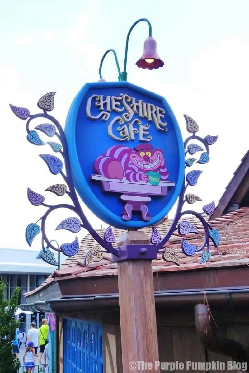 Cheshire Cafe - Magic Kingdom