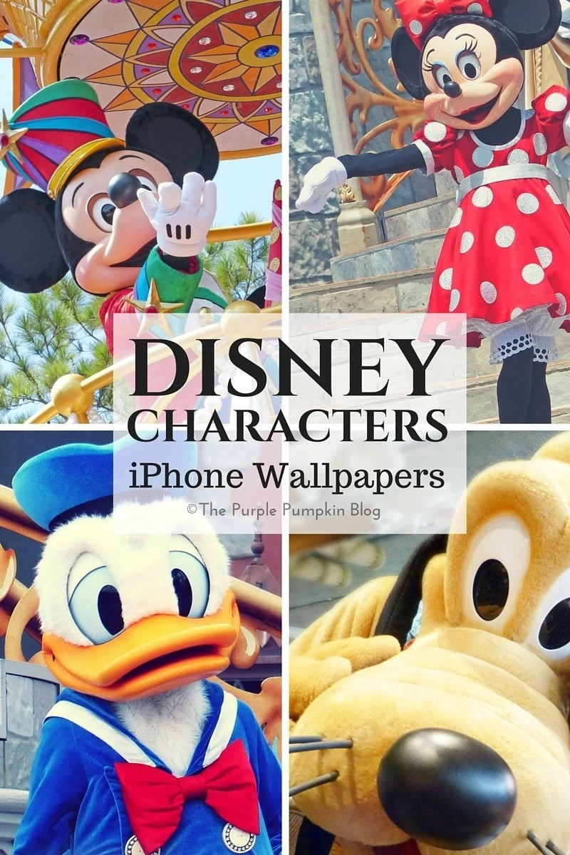 Disney Characters Iphone Wallpapers
