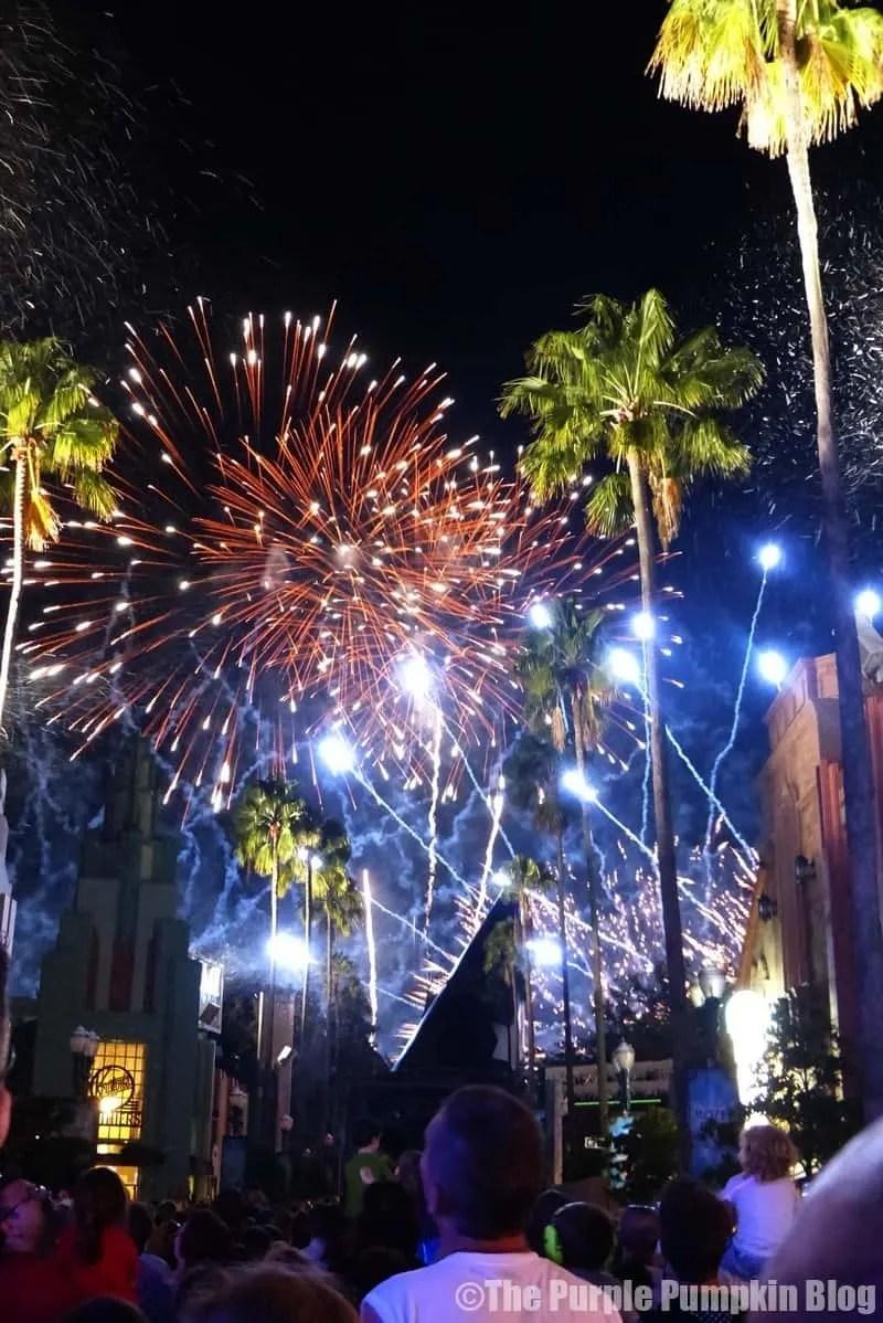 Frozen Fireworks at Disney Hollywood Studios