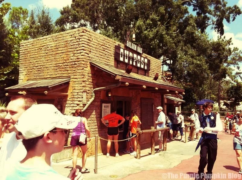 Golden Oak Outpost - Magic Kingdom