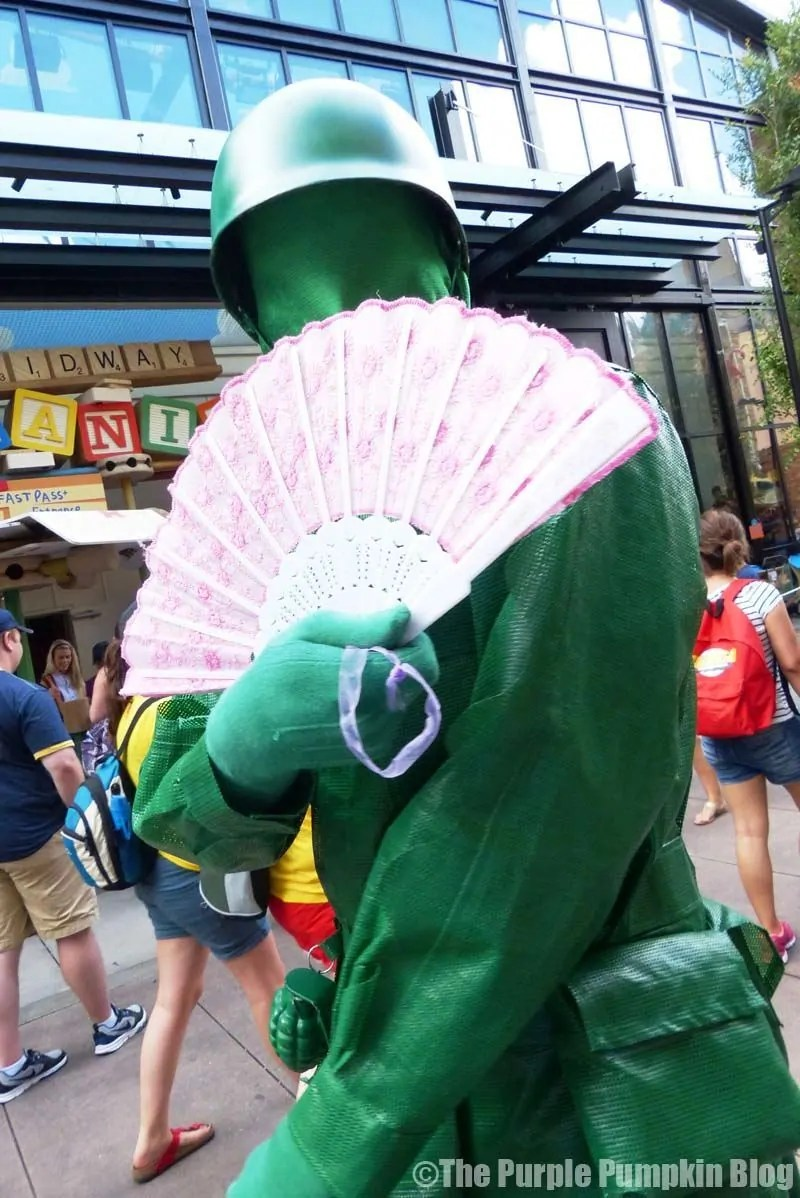 Green Army Man - Hollywood Studios