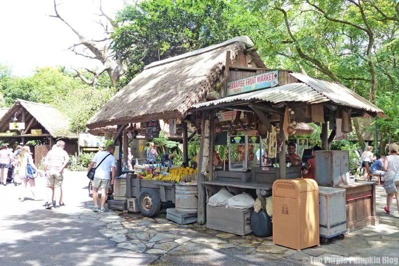 Harambe Fruit Market - Animal Kingdom