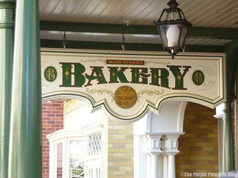 Main Street Bakery - Magic Kingdom