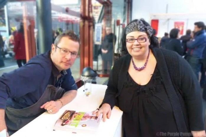 Meeting Hugh Fearnley-Whittingstall at Taste London