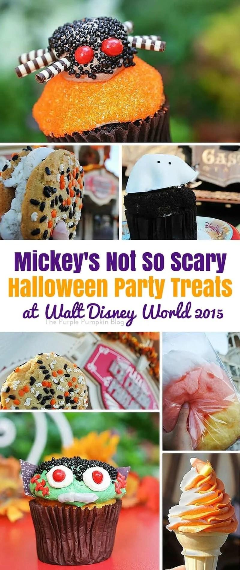 Mickey's Not So Scary Halloween Party Treats at Walt Disney World 2015